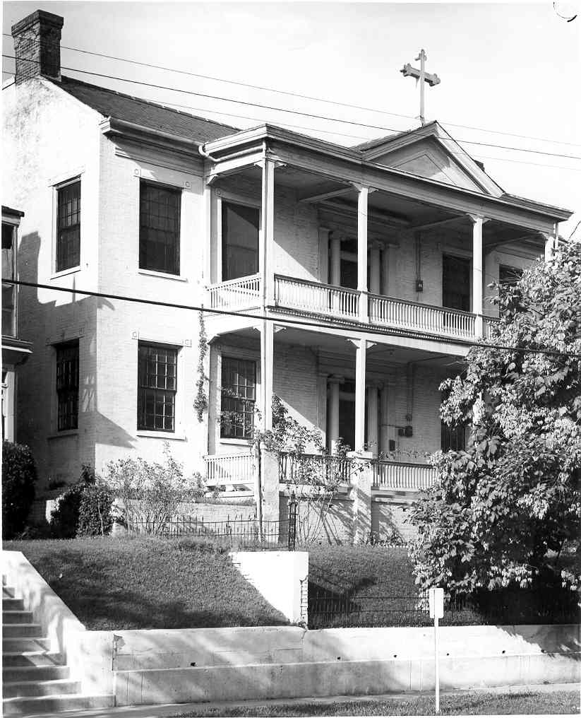 The Willis-Cowan Home, circa 1850's. This house was John C. Pemberton's Headquarters during the siege. There are no known wartime photographs of the structure. During a heavy shelling on May 30, 1863, Pemberton's Headquarters was struck several times by Federal shells.Mrs. Emma Balfour, who lived next door, noted in her diary: I never saw anything like it.People were running in every direction to find a place of safety.The shells fell literally like hail.Mrs. Willis' House was struck twice and two horses in front of her door were killed.General Pemberton and his staff had to quit it. It was in this house that General Pemberton met with his generals on the evening of July 3, 1863, and made the decision to surrender Vicksburg the next day.