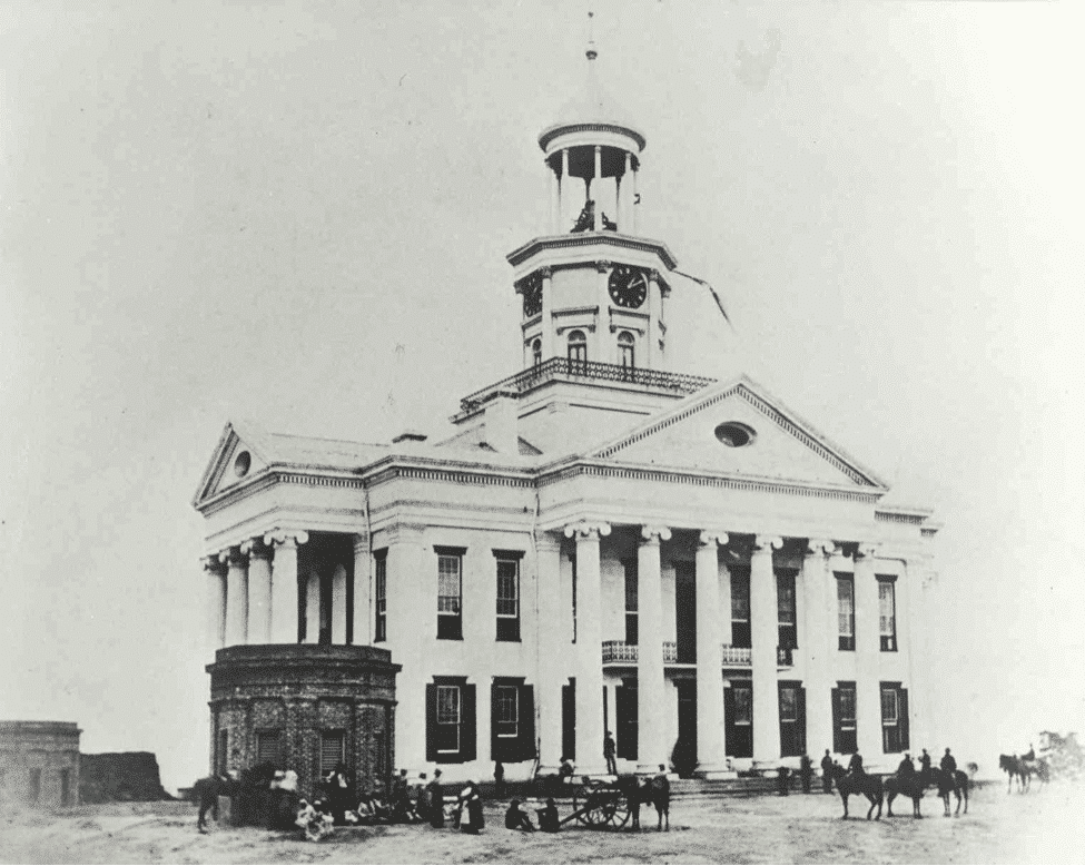 Picture of the Old Court House in Vicksburg, MS